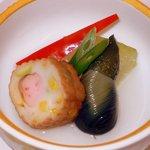 鞆の浦 - 煮物です。アッサリした味ながら上品なお味になっていました。