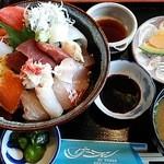 サーフィン - 地さかな丼 1100円