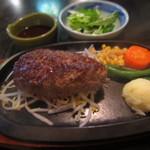 牛庵 - ハンバーグセット¥990