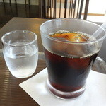 しの笛茶房 - アイスコーヒー