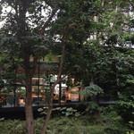 ザ・カフェ by アマン - 地上に出ると見える、カフェの厨房
