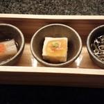 KAPPO R  - 前菜3種
