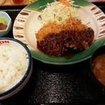38946892 - 味噌ひれかつ定食(小)