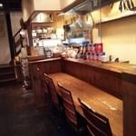 月のとき - Cafe『月のとき』さんのカウンター席(4席)の様子~♪(^o^)丿