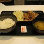 吉野家 - 「牛カルビ定食」です。