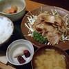 一言亭 - 料理写真:ぶた肉しょうが焼 800円