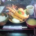 レストラン湖西路 - 海老フライ定食1440円