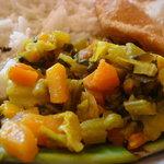 南印度ダイニング ポンディバワン - 野菜のクードゥー