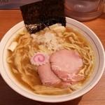 niboshichuukasobasuzuran - 煮干そば(平縮れ麺)
