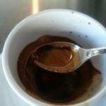 ラ ポーザ カフェ - 砂糖もいただきます(^-^)