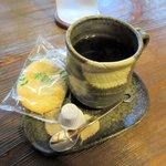 山小屋 佐藤 - ホットコーヒー2015.06.12