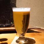 玉笑 - アサヒ熟撰生ビール (2015/05)
