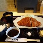 かつ蔵 - ロースカツ膳940円