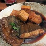 なかむら - 有明産クツゾコ(舌平目)の煮付け。