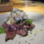 ヴィラッジオ - 料理写真:山形牛藁焼きカルパッチョ