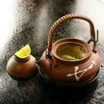 松茸山 別所和苑 - 松茸土瓶蒸し