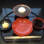 ぎおん 徳屋 - 本わらび餅(1200円)