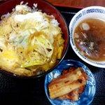 谷川ラーメン - 肉丼
