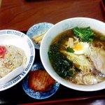 谷川ラーメン - チャーハン定食