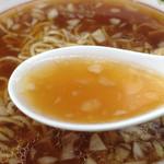 38961525 - 中華そば(大) スープ
