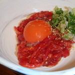 炭火焼肉・にくなべ屋 神戸びいどろ - タンユッケ
