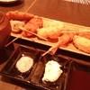 串膳 - 料理写真:ソース二度付け禁止!