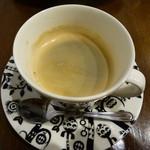 オステリアカルマ - コーヒー