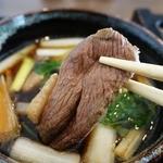 川越 藪蕎麦 - 肉厚で柔らかい鴨肉が美味