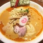 麺肆 秀膽 - 週末の平塚飯。今日は塩担々麺でした。あっさりとしていながらこくのある味に満足。ご馳走様でした。
