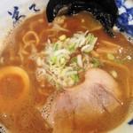 38963646 - 魚介しぼり醤油ラーメン