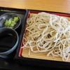 かみざくら - 料理写真:「石臼挽き湧水そば(せいろ) ¥700」