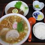38967009 - ラーメン定食¥700