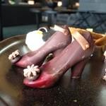 ザ・ラウンジ byアマン - このハイヒール型のショコラが見たくて、来ました(ღ˘⌣˘ღ)