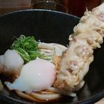 本町製麺所 本店 - 料理写真:温玉ちく天うどん(冷)
