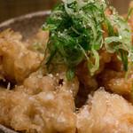 本町製麺所 本店 - 鶏天小丼