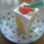 Fujiyaresutoran - スイーツマンハッタン(かんきつレアチーズ)