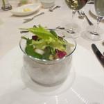 清里高原ホテル - 料理写真:本マグロとホタテと信州サーモンのカクテル