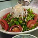 ひつじ亭 - トマトサラダ