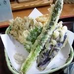 38969567 - 野菜の天ぷら、ルックスはよかったが・・・
