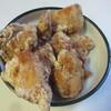 鶏 - 料理写真:先ずは骨なしムネ肉の唐揚げ100g180円を200g買ってみました