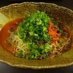 38970488 - 担担麺(濃厚胡麻):600円