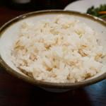 味楽 - 麦飯