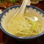 味楽 - テールスープ