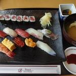 日本橋 - おすすめ握り寿司:2,500円