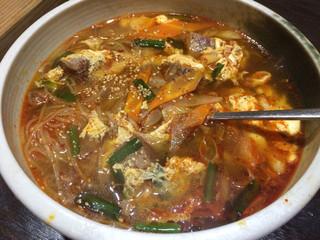 焼肉 九葉 - カルビ麺