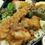 北の市場 - 海老フライ・鶏唐揚げ・魚・和惣菜と内容は充実!
