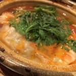 ミルナーナ - 2015.06 トマトの水餃子(見た目はミネストローネ風)