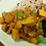 GRANO DELICATESSEN BAR - 雑穀ご飯と7種野菜