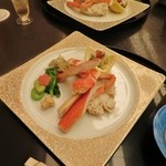 38973381 - ずわい蟹の蟹味噌と蟹身