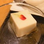 月日亭 - ごま豆腐